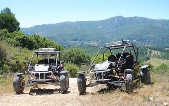 Passeio de Kart Cross + Almoço para 2 Pessoas por 129€ na Serra da Arrábida!