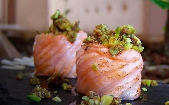Sushi de Fusão com 30% de Desconto ao Jantar em Oeiras!