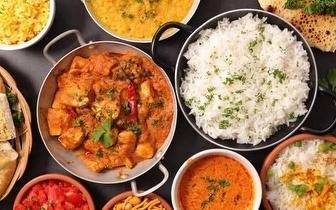 Menu de Comida Indiana e Nepalesa para 2 Pessoas ao Almoço por 16€ em Roma-Areeiro!