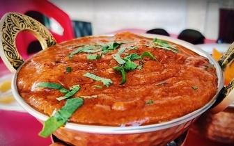 Comida Indiana e Nepalesa com 50% de Desconto ao Jantar nos Anjos!