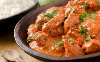 Menu de Comida Indiana para 2 Pessoas ao Jantar por 24,90€ nos Restauradores!
